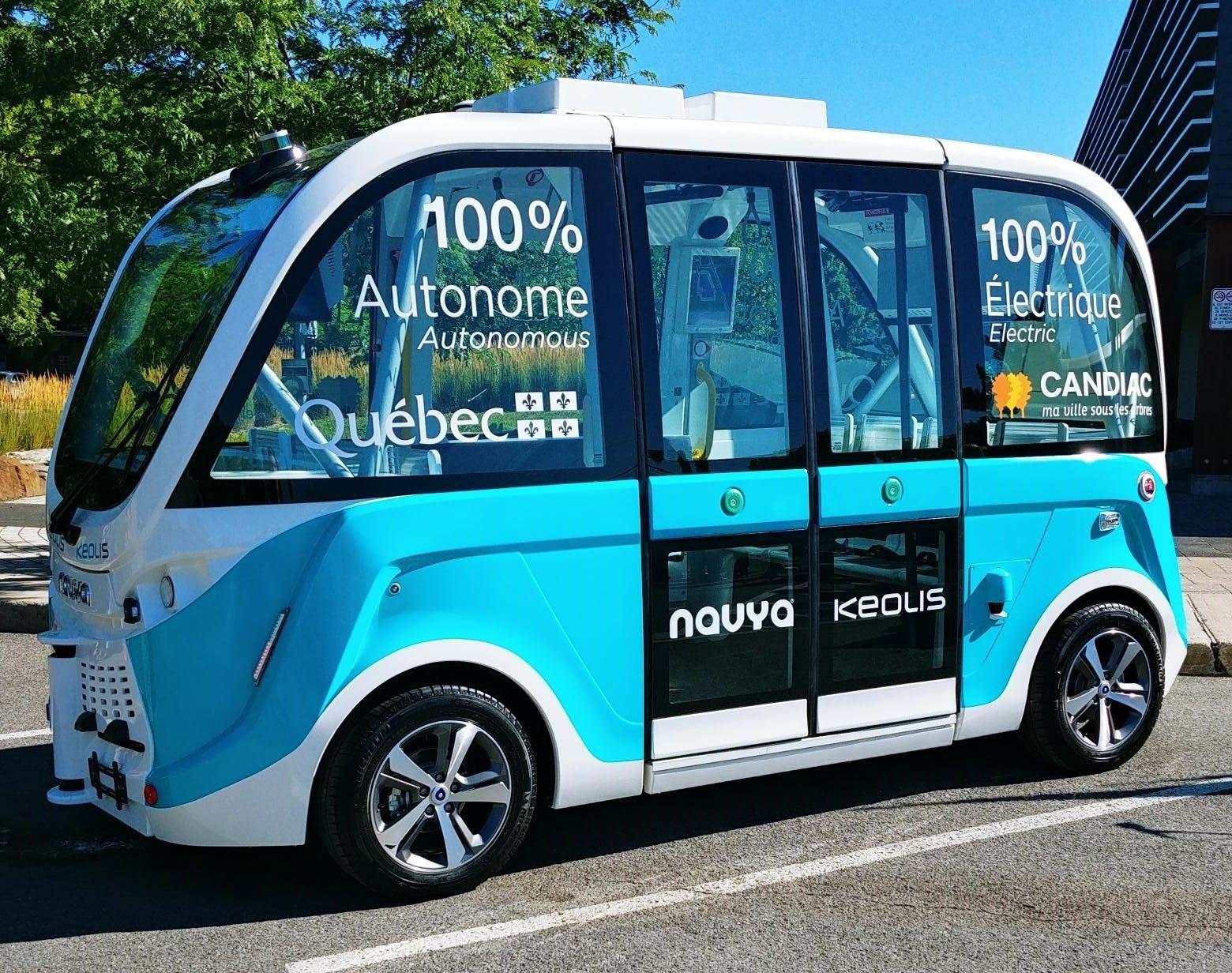La navette autonome, une révolution à nos portes