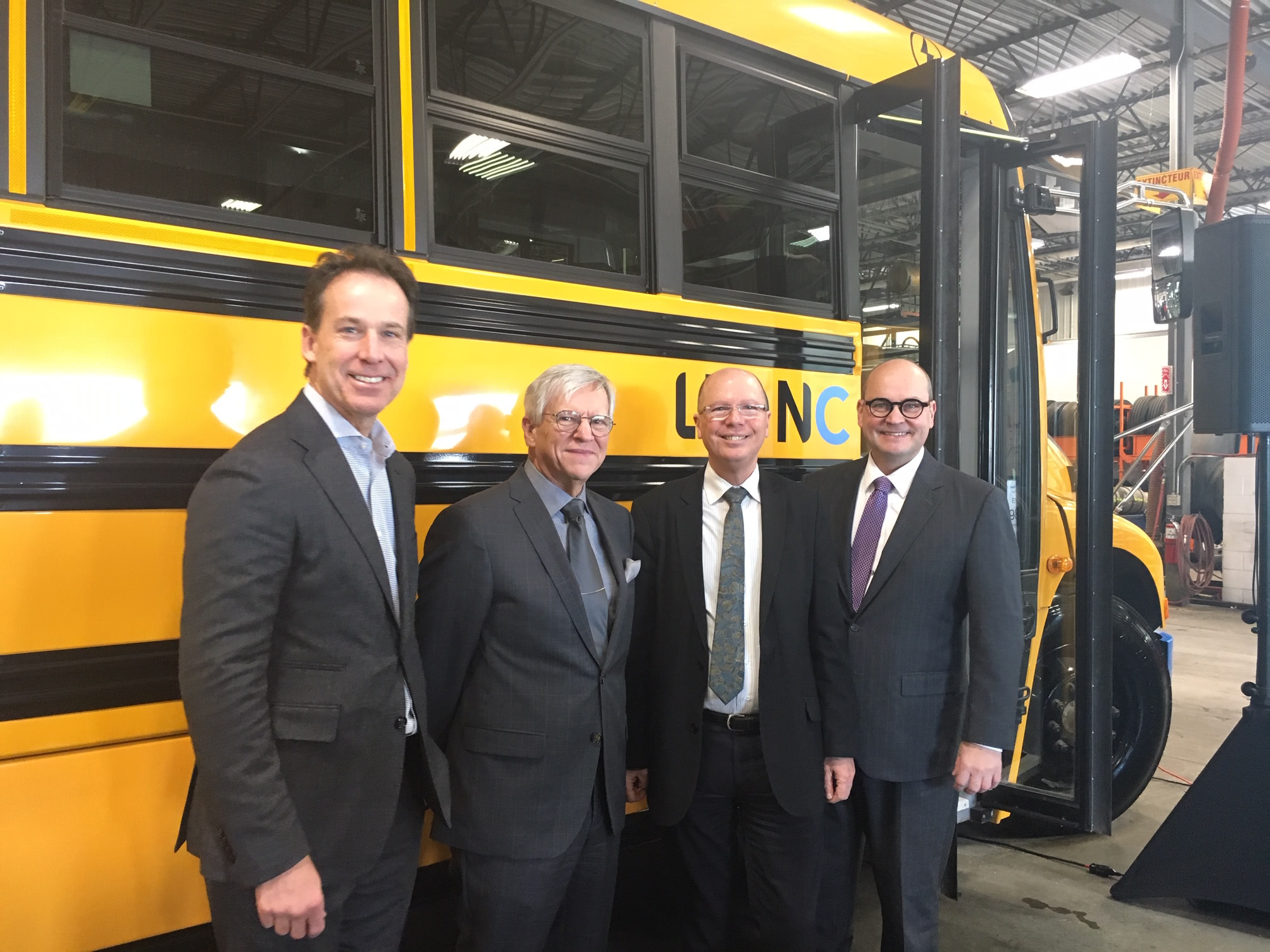 Keolis Acquires 12 Electric School Buses