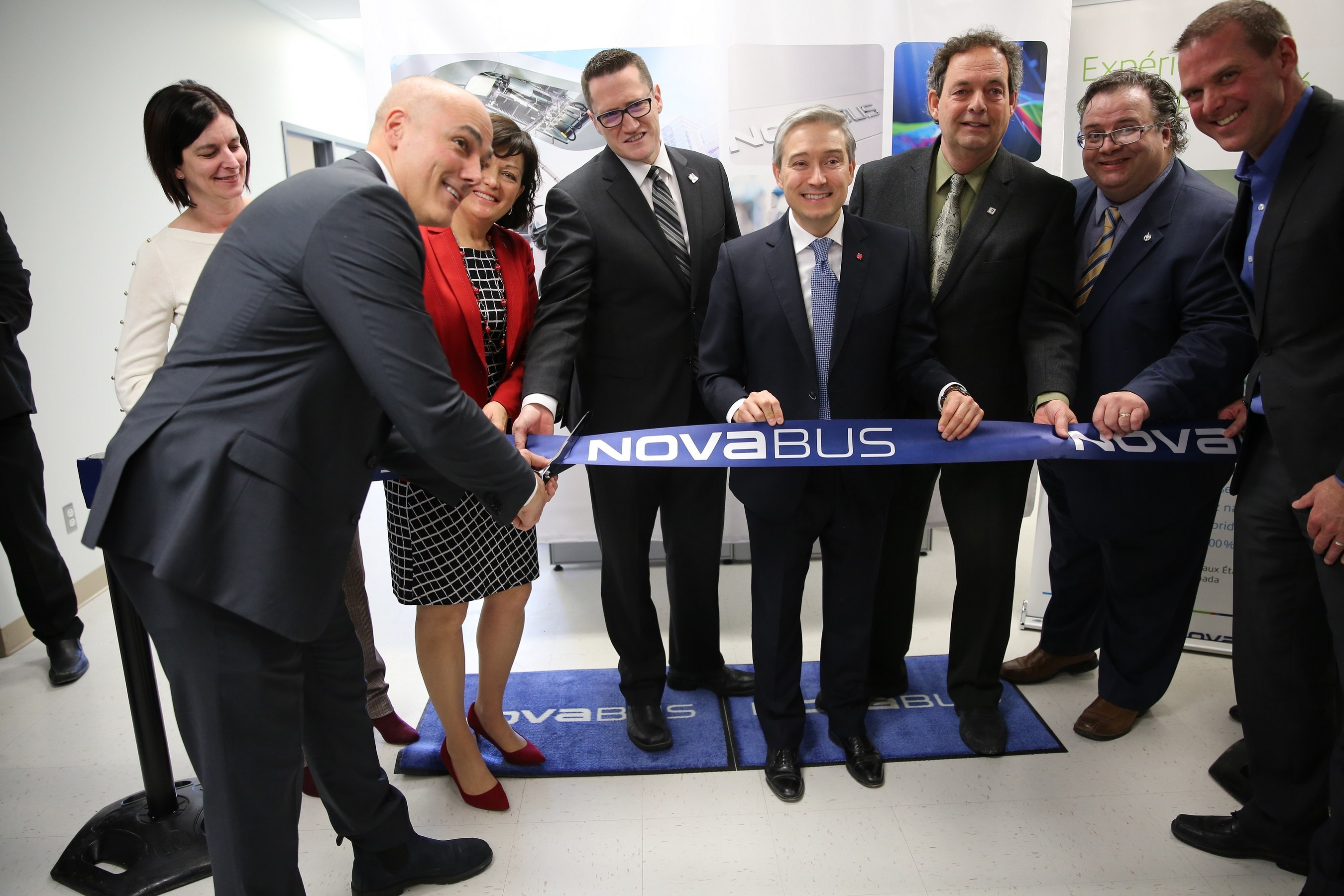 Nova Bus inaugurates its Development Center