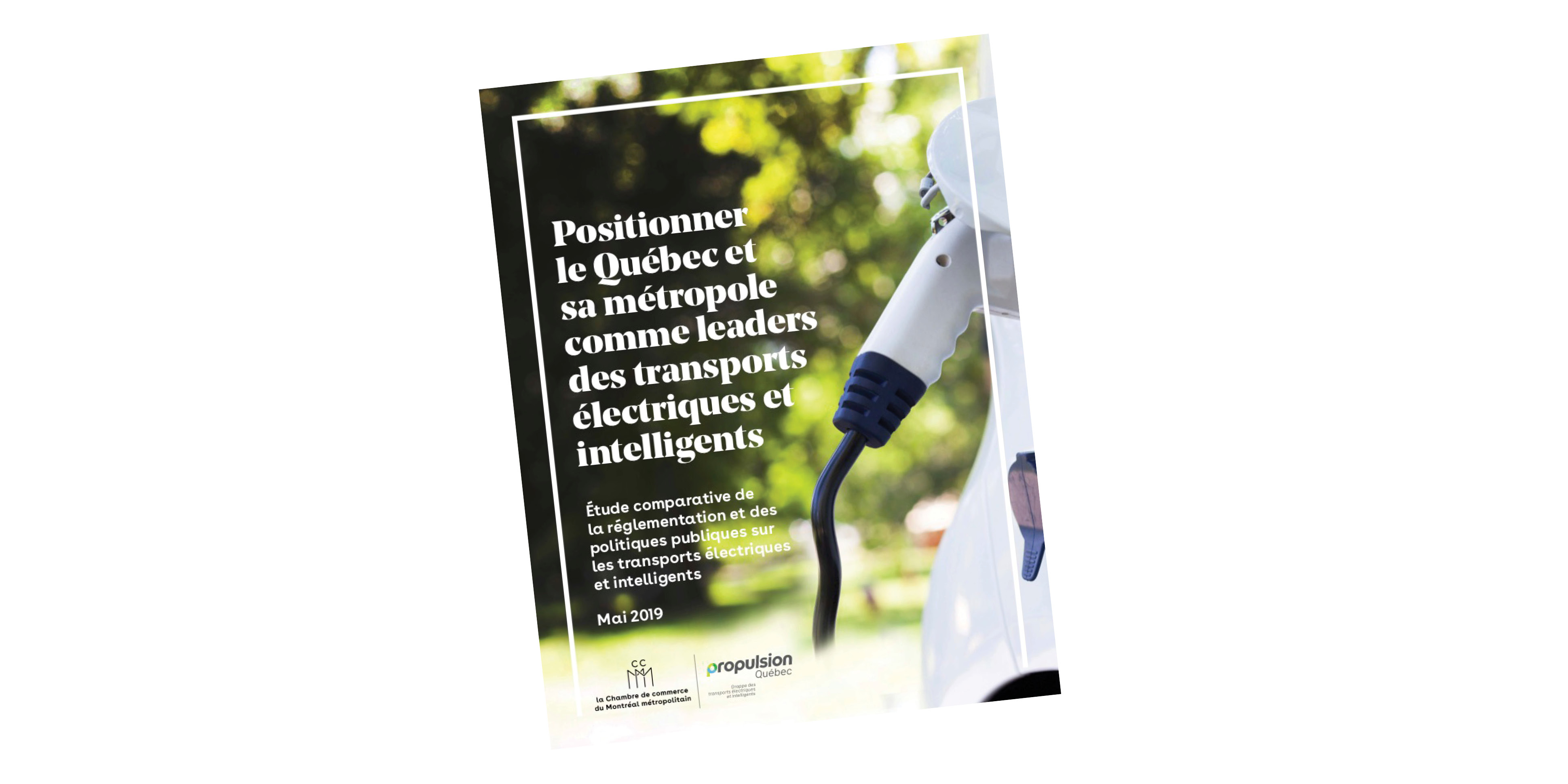 Positioning Quebec and Montréal as leaders in electric and smart transportation