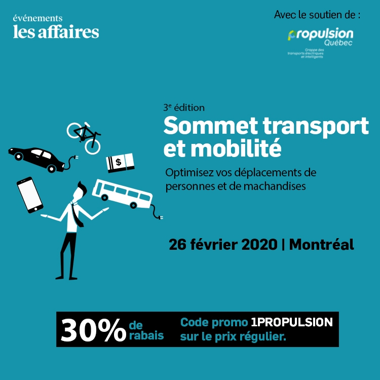 Les Affaires : Sommet transports et mobilité