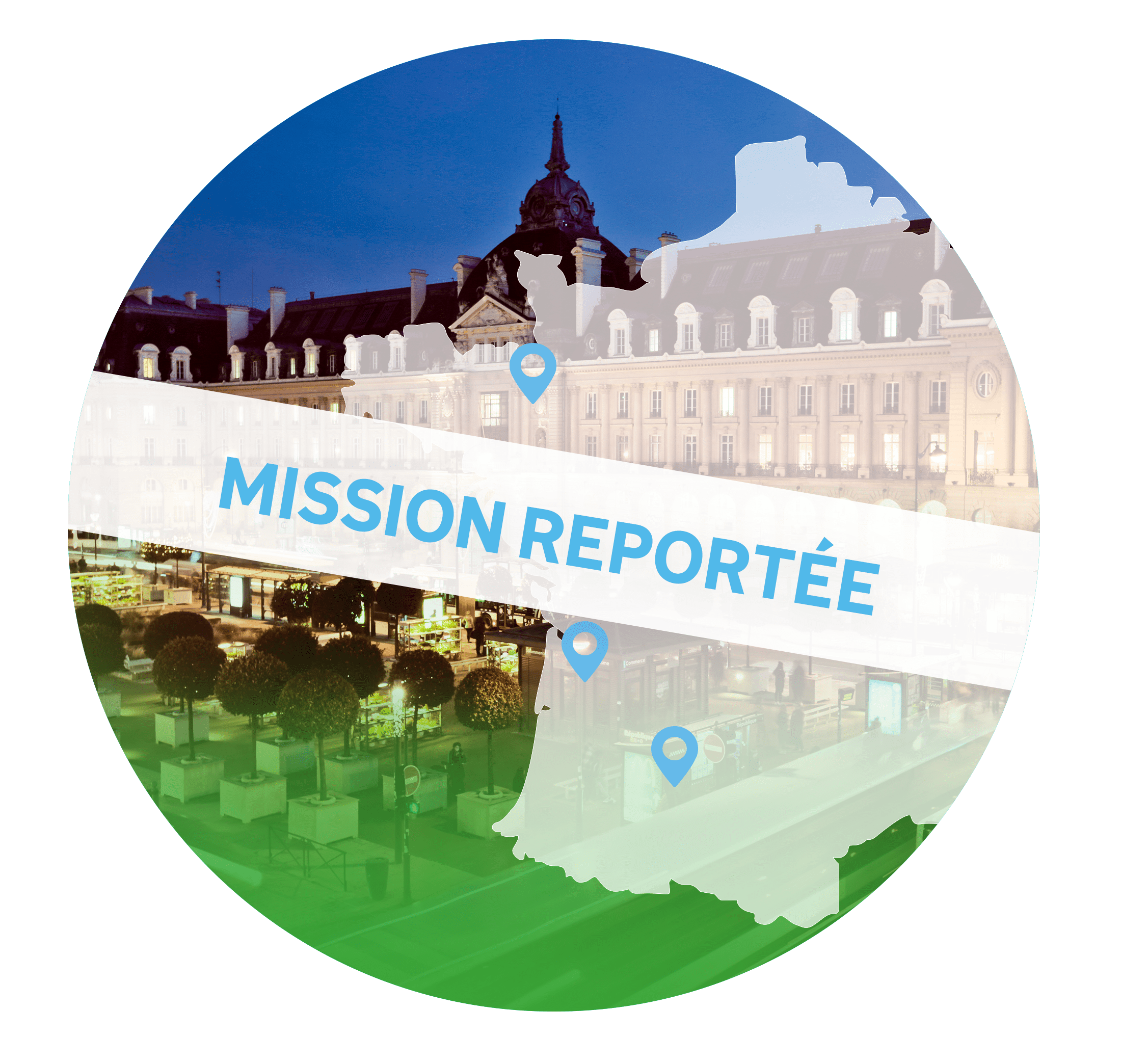 Mission commerciale en France