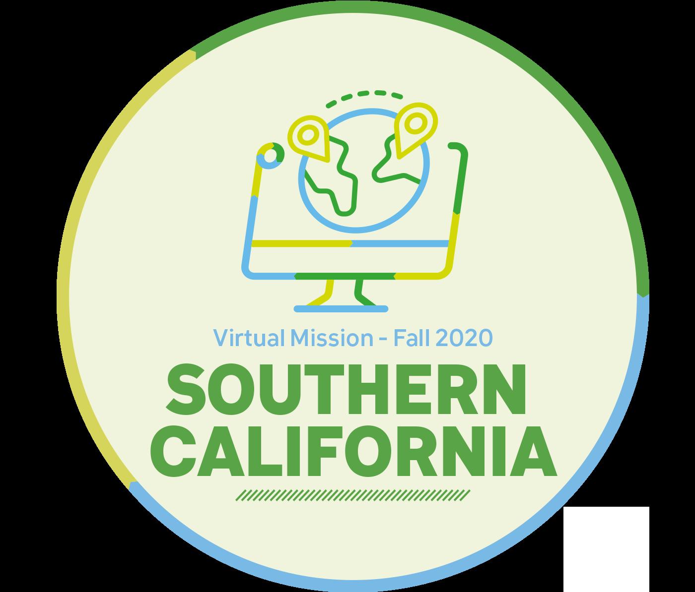 NEW UPCOMING VIRTUAL MISSION - SOUTHERN CALIFORNIA